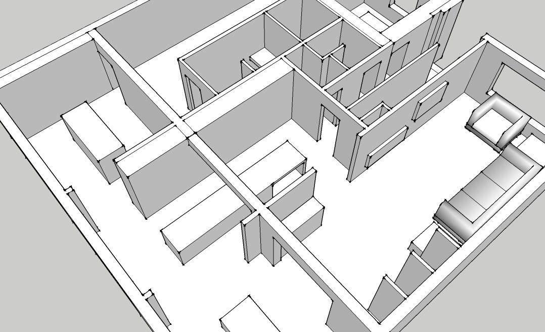 De woning van yannick hanne interieur for Woning indeling